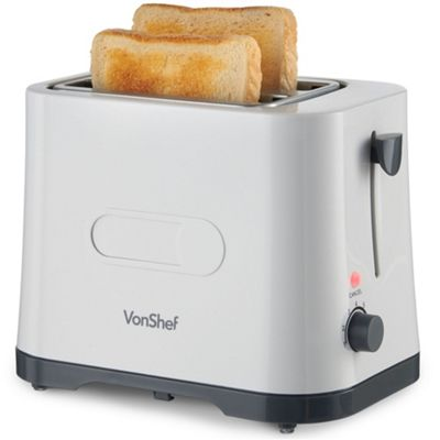 VonShef Essentials 2 Slice Toaster
