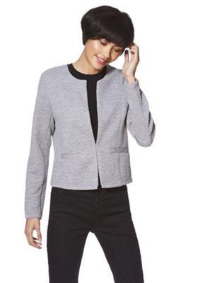 Vero Moda Quilted Short Blazer Grey XL