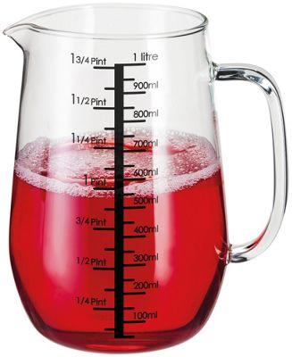 Stellar Kitchen Glass Measuring Jug 1000ml 1.75 Pints