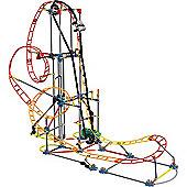 K'NEX Electro Inferno Roller Coaster Building Set