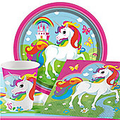 Unicorn Party Pack - Value Pack For 8
