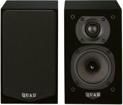 QUAD L-ITE 2 COMPACT SPEAKERS (PAIR) (BLACK)