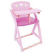 Bigjigs Toys Daisy Doll High Chair