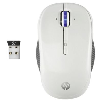 HP X3300 Wireless Mouse White