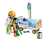 Playmobil 6661 City Life Children's Hospital Doctor with Child