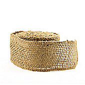 Hessian Mesh Ribbon – 5cm x 5m -Natural