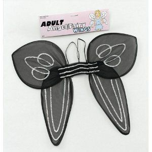 Angel Wings. Adult Black
