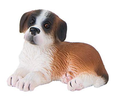 Dogs - Saint-Bernard Puppy Bongo Figurine - 2' - Bullyland