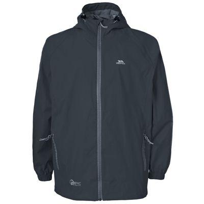 Trespass Qikpac Packaway Waterproof Jacket 3-4 years Charcoal