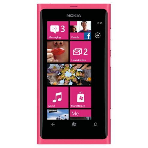 Tesco Mobile Nokia Lumia 800 Magenta
