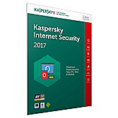 Kaspersky Internet Security 2017, 1 Device, 1 Year (PC/MAC/Android)