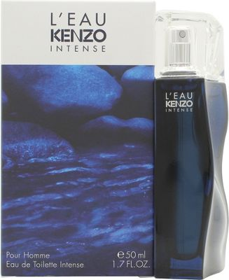 Kenzo L'Eau Kenzo Intense Pour Homme Eau de Toilette (EDT) 50ml Spray For Men