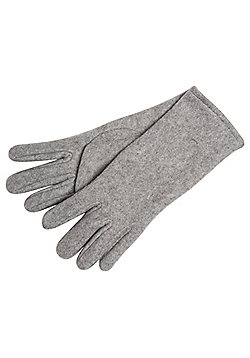 F&F Fleece Gloves - Grey