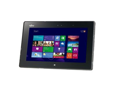 Fujitsu STYLISTIC Q572 (10.1 inch) Slate PC (Z-60) Dual Core 1.0GHz 128GB (SSD) TPM Fingerprint Reader Smartcard Reader Windows 8 Pro