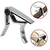 Tiger Universal Trigger Guitar Capo - Chrome