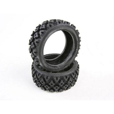 Tamiya 50476 Rally Block Tyres (2Pcs) - Rc Hop-Ups