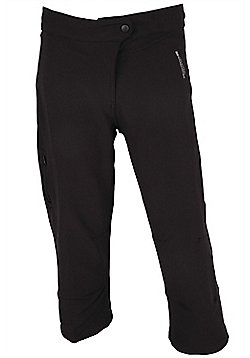 Women's Adrenaline Relaxed Fit Capri Pant - Black