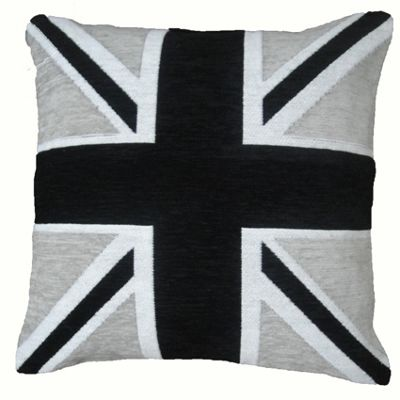 Rapport Union Jack Cushion Cover - Black