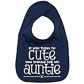 Dirty Fingers If you think I'm Cute you should see my Auntie Bib Navy