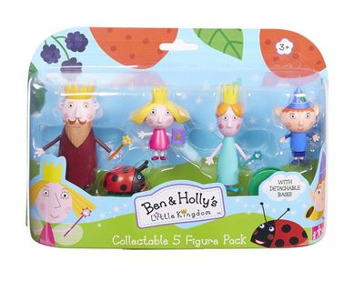Ben and Holly Five Figure Pack