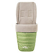 Wallaboo Newborn Baby Footmuff - Lime