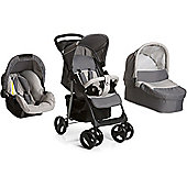 Hauck Shopper SLX Trio Set with Mosquito Net - Stone/Grey