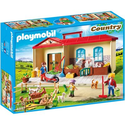 PLAYMOBIL Take Along Farm - Country 4897