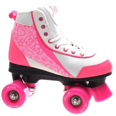 Luscious Retro Quad Roller Skates - Strawberry Kisses - UK 3