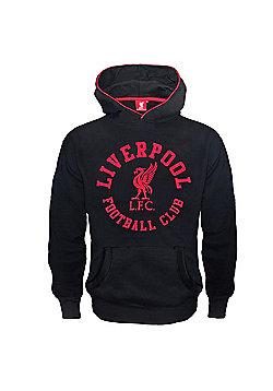 Liverpool FC Boys Hoody - Black
