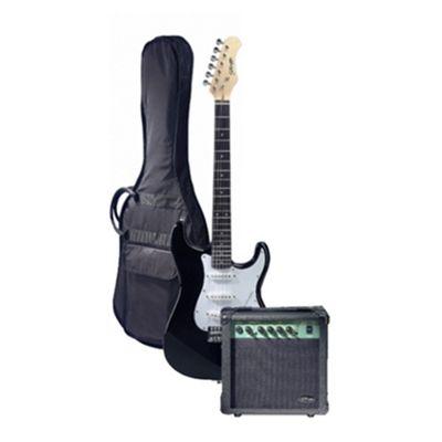 Stagg Electric Guitar Starter Kit - Black