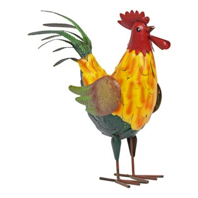 Rodney the Metal Rooster Cockerel Garden Ornament