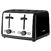 Kenwood TTM480BK Scene 4 Slice Toaster - Black