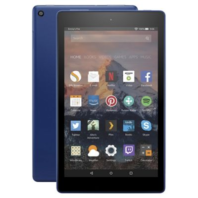 Amazon Fire HD 8 Tablet with Alexa Assistant 8 inch 16GB with Wi-Fi (2017) - Marine Blue