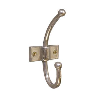 Single Chrome Coat Hook