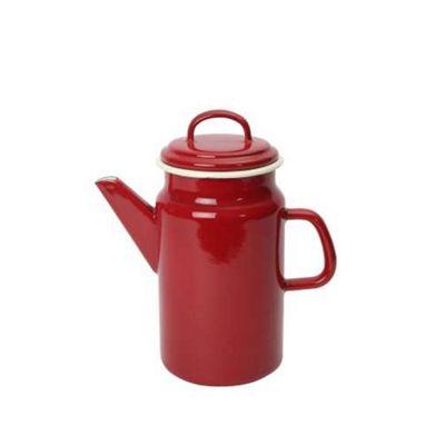 Dexam Vintage Home Enamelware Coffee Pot - Claret