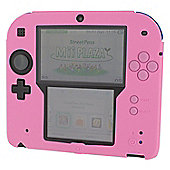 Zedlabz Silicone Protective Cover For Nintendo 2ds [pink] /2ds - Nintendo3Ds