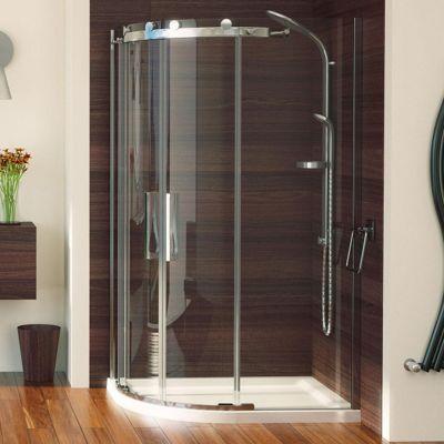 Buy Aqualux Aqua 8 Roller Offset Quadrant Shower Door