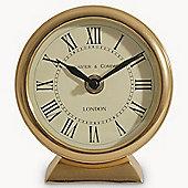 Redlands Antique Gold Mantle Clock