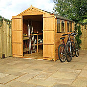 Tongue & Groove Apex Shed With Double Doors Garden Wooden Shed