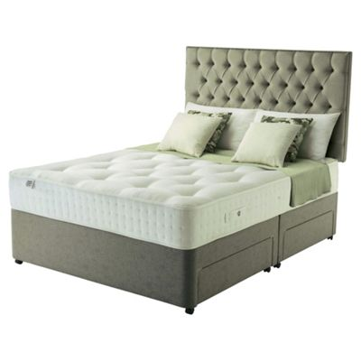Rest Assured Super King Divan Bed with 4 Drawers, Pocket 1400