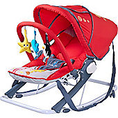 Caretero Aqua Baby Bouncer (Red)