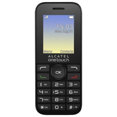 Alcatel 1016G Black -SIM Free