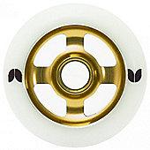 Blazer 4 Spoke Stormer Wheel - 100mm - Gold