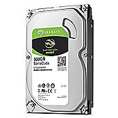 "Seagate Barracuda ST500DM009 - Hard drive - 500 GB - internal - 3.5"" - SATA 6Gb/s - 7200 rpm - buffer: 32 MB"