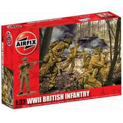 WWII British Infantry (A02718) 1:32