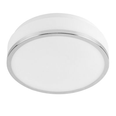 MiniSun Bonneville 3000K LED Bathroom Flush Ceiling Light - White