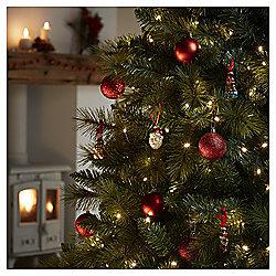 360 Multi-function LED Christmas Lights, Warm White