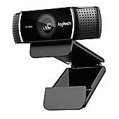 Logitech C922 1920 x 1080pixels USB Black webcam
