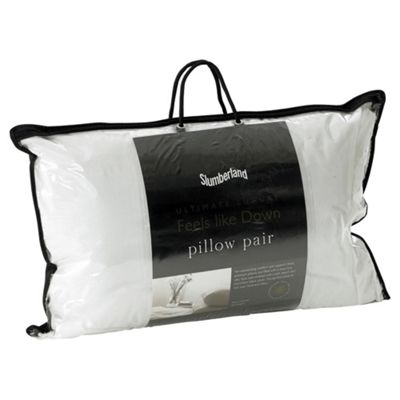 Slumberland Feels Like Down Pillows - 2 Pack