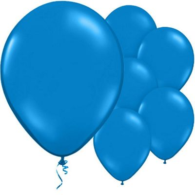 Gentian Blue 11 inch Latex Balloons - 50 Pack